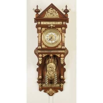 Ansonia Antique Wall Clock