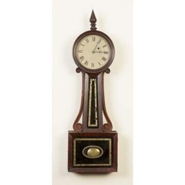 J. J. & Beals, Boston, Banjo Clock