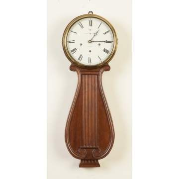 New Haven Lyre Clock