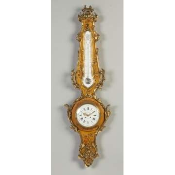 Gubelin Lucerne French Clock Barometer