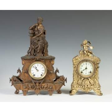 Seth Thomas & Ansonia Shelf Clocks