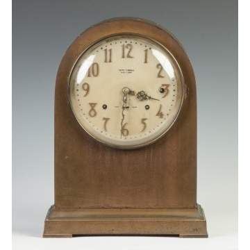Seth Thomas Sonora Chime Brass Shelf Clock
