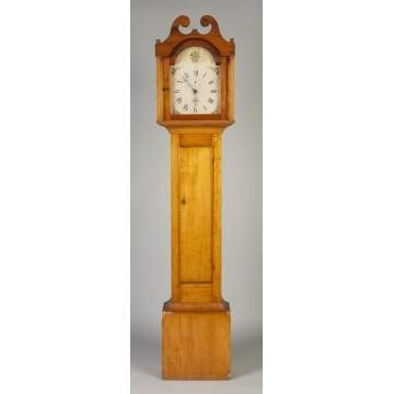 New England Tall Case Clock