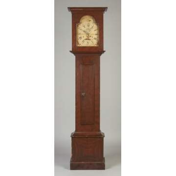 Riley Whiting, Winchester, CT, Tall Case Clock