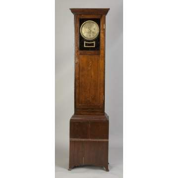 George E. Winslow, Waltham, MA, Watch Clock