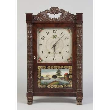 Mark Leavenworth Shelf Clock