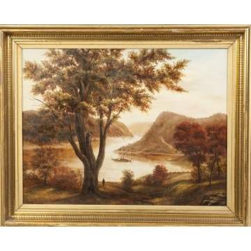 19th Cent. American Hudson River School Painting