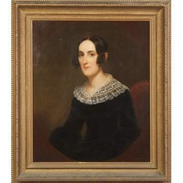 Portrait of a Young Lady with Lace Collar