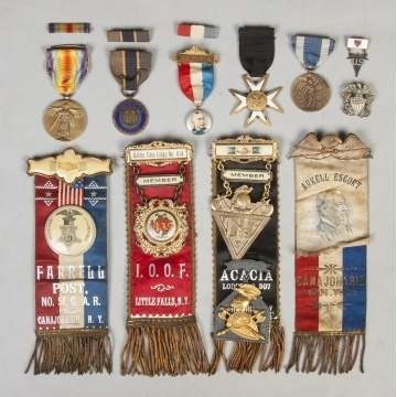 Various Ribbons & Awards