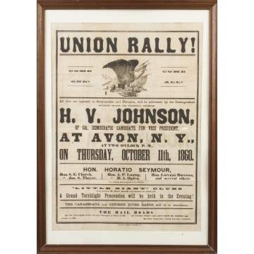Union Rally Poster