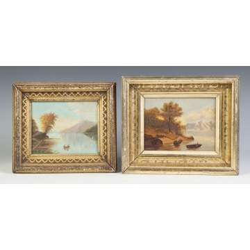 Two Hudson River School Paintings