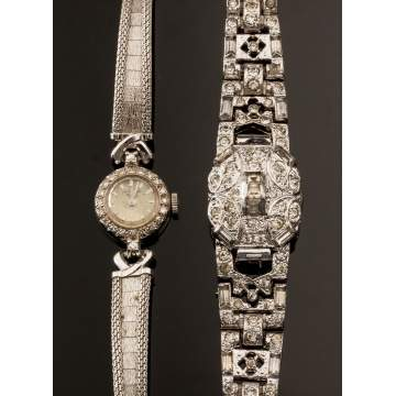 Two Ladies Wrist Watches