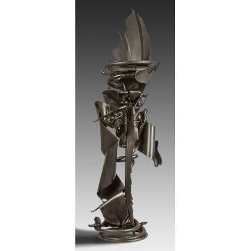 Albert Paley (B. 1944) Metal Sculpture
