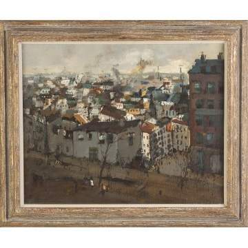 "Jan Rijlaarsdam (Dutch, 1911–2007) ""Menilmontant: Paris"""