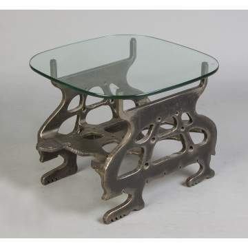 Albert Leon Wilson (Rochester, NY, 1920-1999) Sculpted Steel Stylized Turtle Table