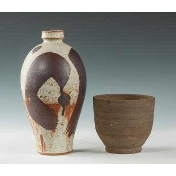 Ted Randall (American, 1914-1985) & Robert Chapman Turner (American, 1913-2005) Pottery Vases