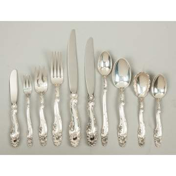 Gorham Sterling Silver Flatware - Décor Pattern