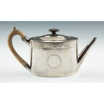 Thomas Holland Sterling Silver Teapot