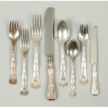Tiffany & Co. Sterling Silver Flatware - Wave Edge Pattern